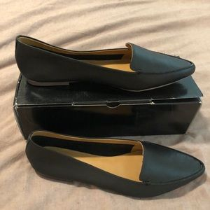 J. Crew Factory Edie leather loafers, sz 12